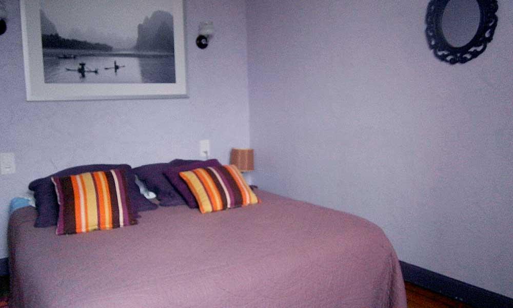Chambre violette