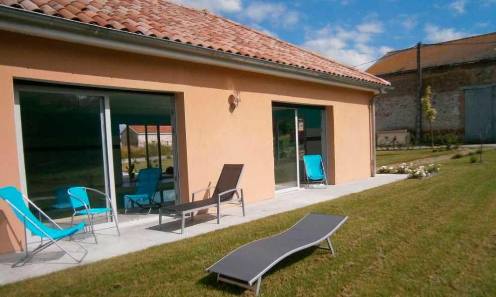 Salon de jardin - Transat - piscine